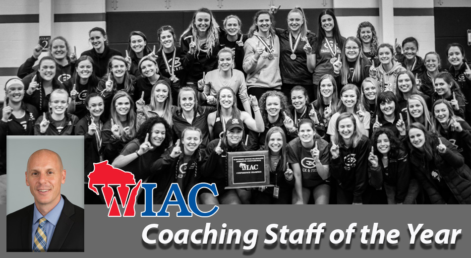Women's Track & Field coaching staff earns WIAC honors