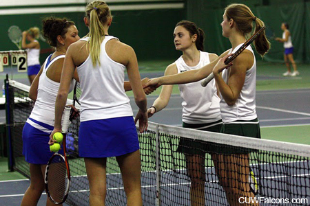 Women's Tennis Looks to Win Outright NAC Title Tuesday