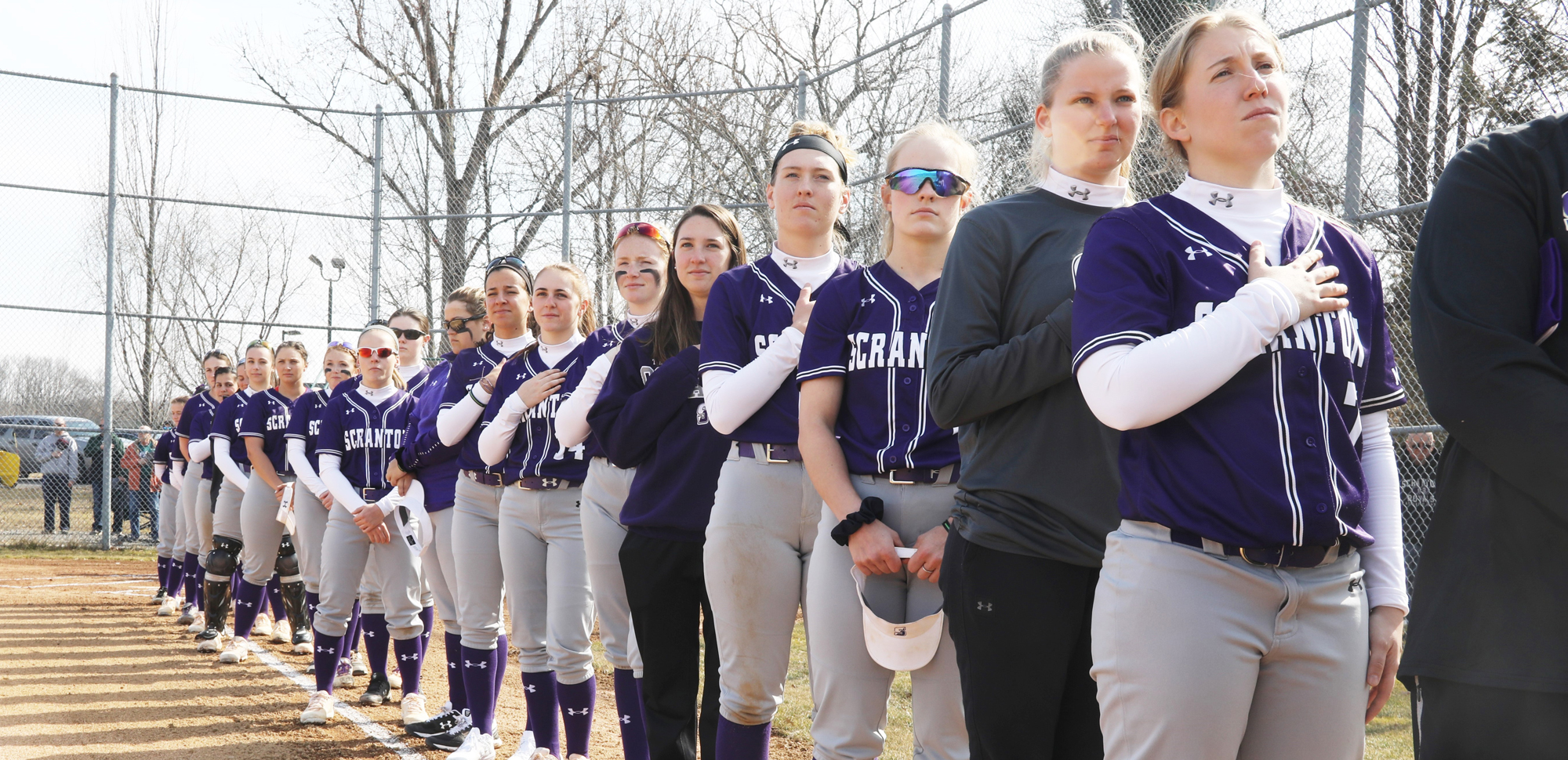 The University of Scranton softball team will play in the NCAA Tournament for the first time since 1983 on Friday, as they take on host and top-ranked Virginia Wesleyan at 4:30 p.m. © Photo by Timothy R. Dougherty / doubleeaglephotography.com