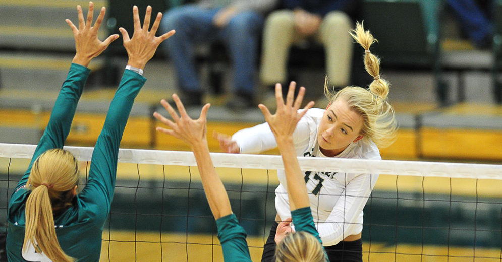 Mustangs Complete Comeback to Defeat Hawai'i in Five Sets