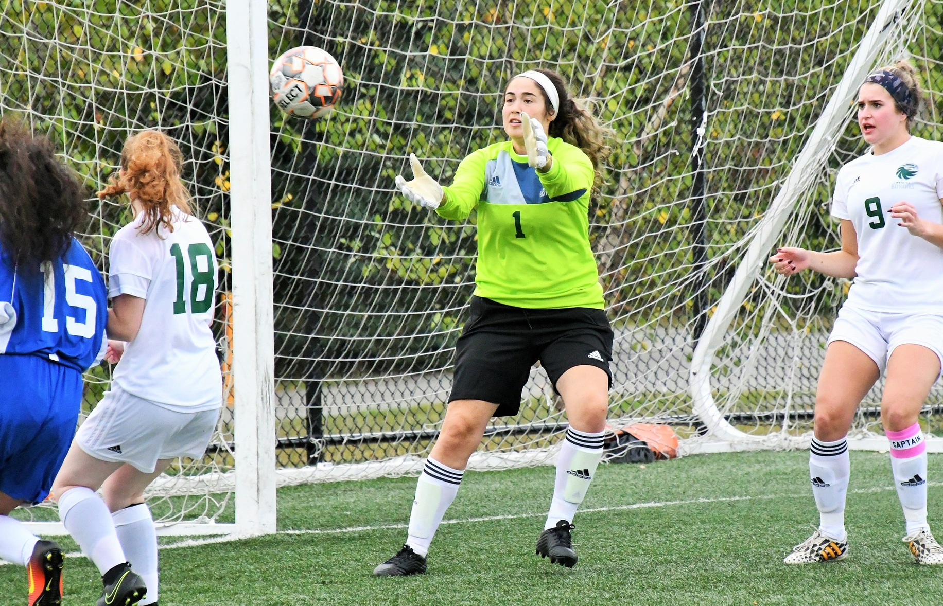 2nd Half Surge Sends Women's Soccer Past Springfield Tech.