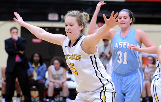 Women's Basketball Holds Off Pine Manor