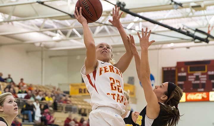 Ferris State's Sarah DeShone Picks Up GLIAC Recognition
