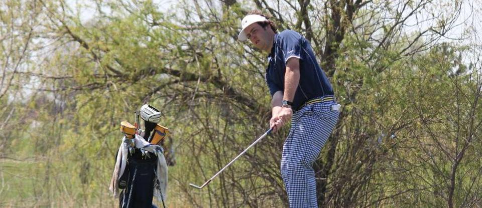 Pollock Leads Men's Golf in Opening Round of Huntingdon Invitational