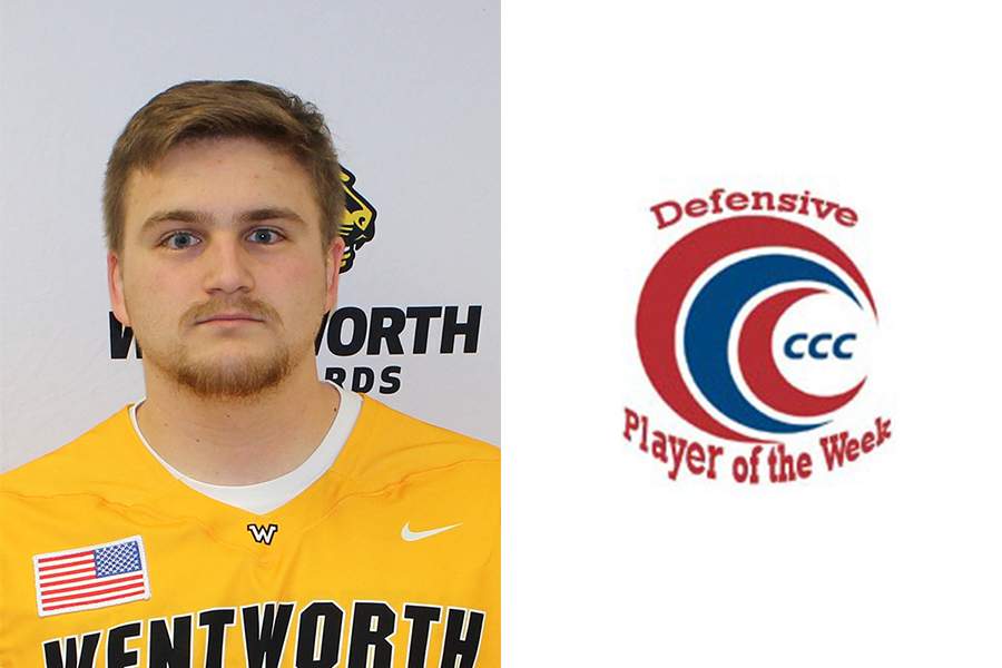 Dufault Earns CCC Defensive Player of the Week Honors