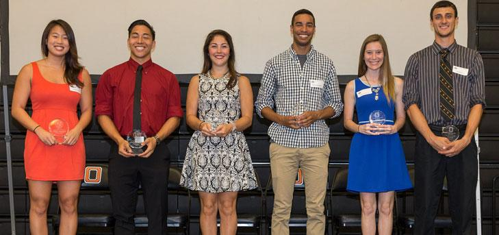 Chang, Padron Earn Top Honors at Senior Banquet