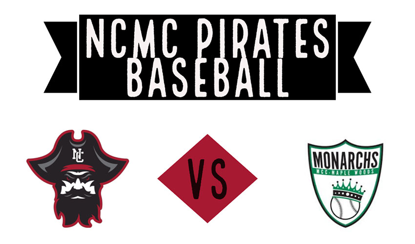 Pirates Fall Just Short Of MCC-Maple Woods Sweep