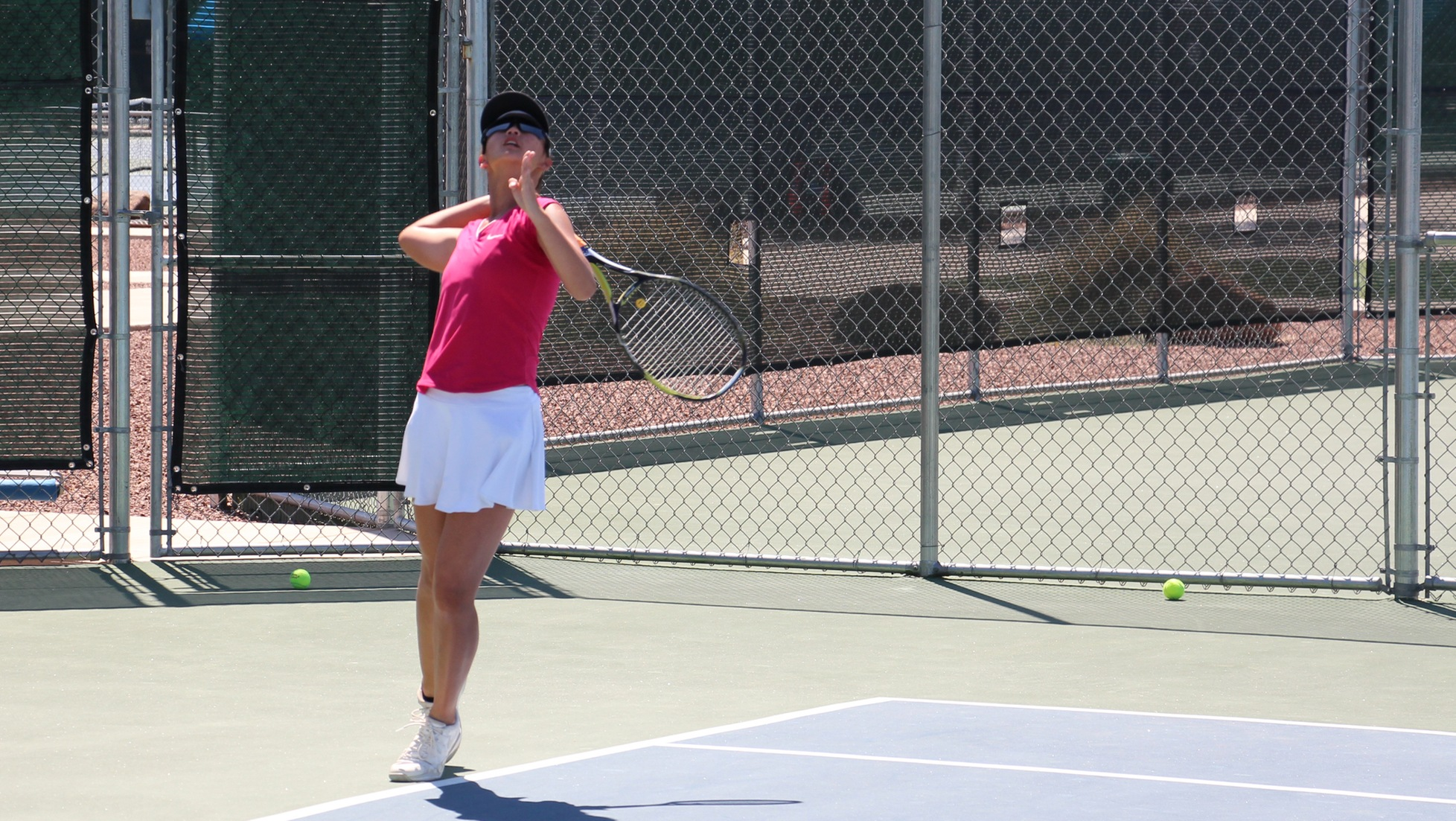 Michelle Li Sha Khoo sealed the Seasiders win with a 6-3, 6-3 victory in singles.