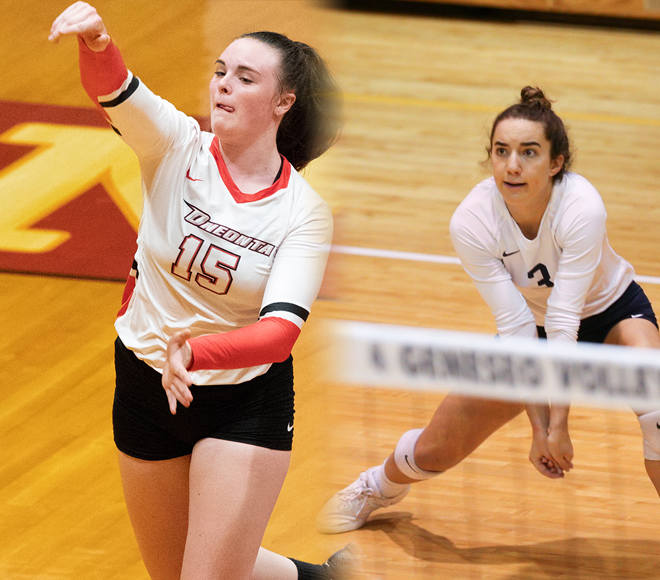 Culeton, Ayzenberg recognized as Women's Volleyball Athletes of the Week