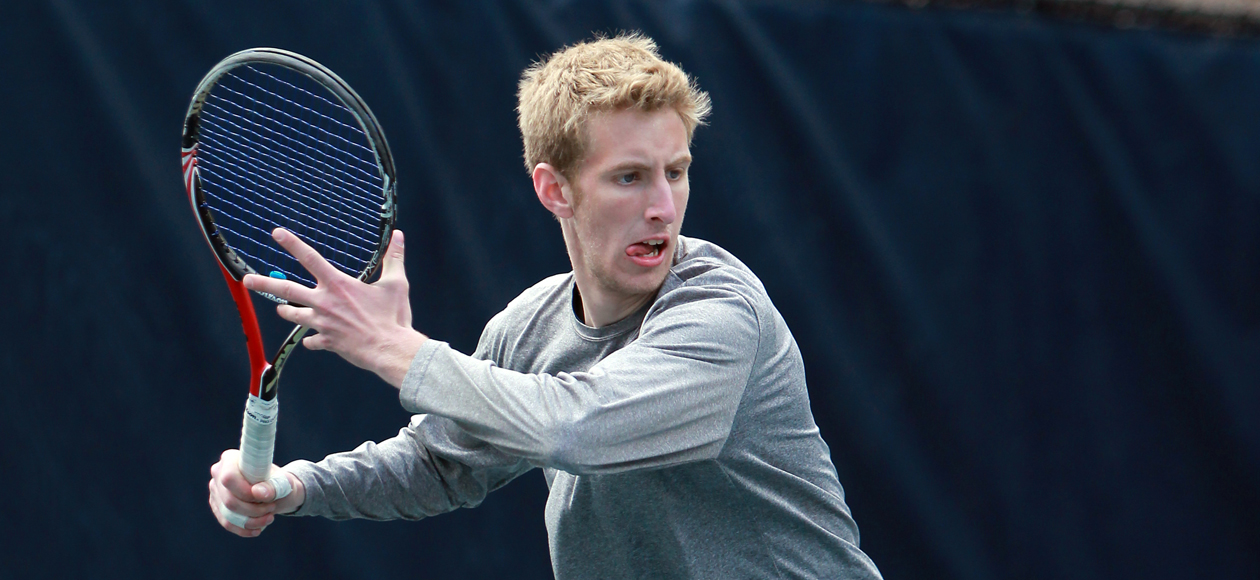Men's Tennis Downs Wheaton (Mass.), 8-1