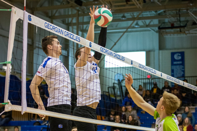 MEN'S VOLLEYBALL EARN BIG VICTORY OVER THUNDER
