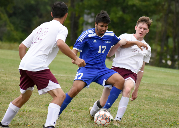 Lakers held scoreless by Ancilla at home, 2-0