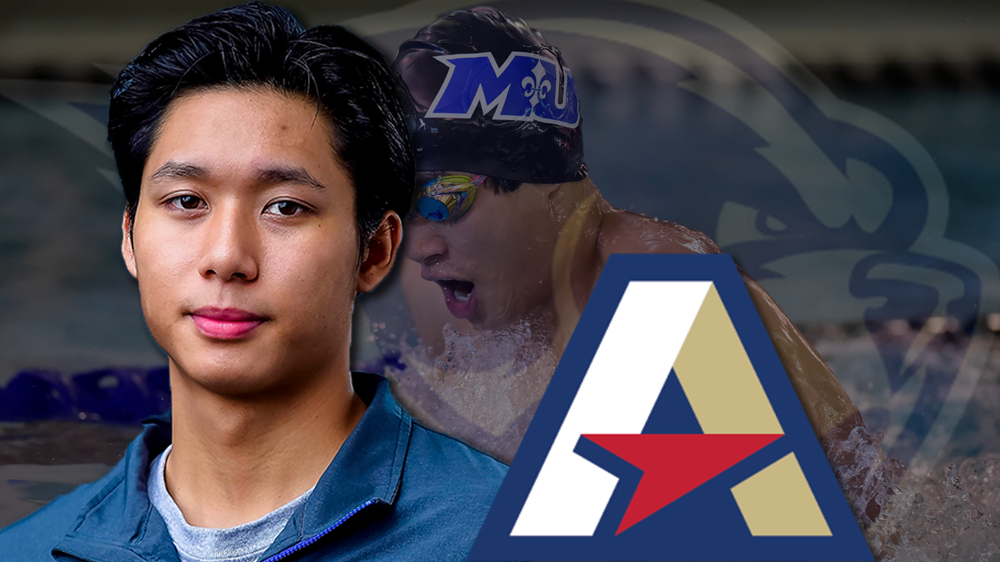 Pham named Atlantic East Swimmer of the Week for second time