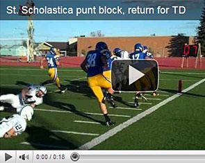 St. Scholastica play of the week