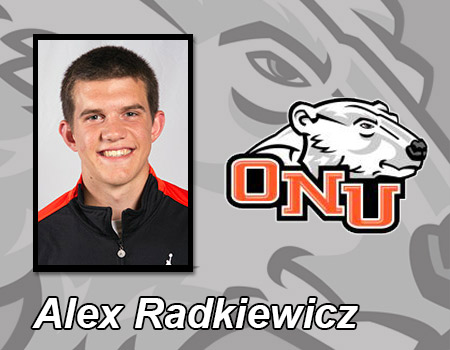 Freshman Alex Radkiewicz scores a career-high 13 points to lead Men's Basketball against Wilmington