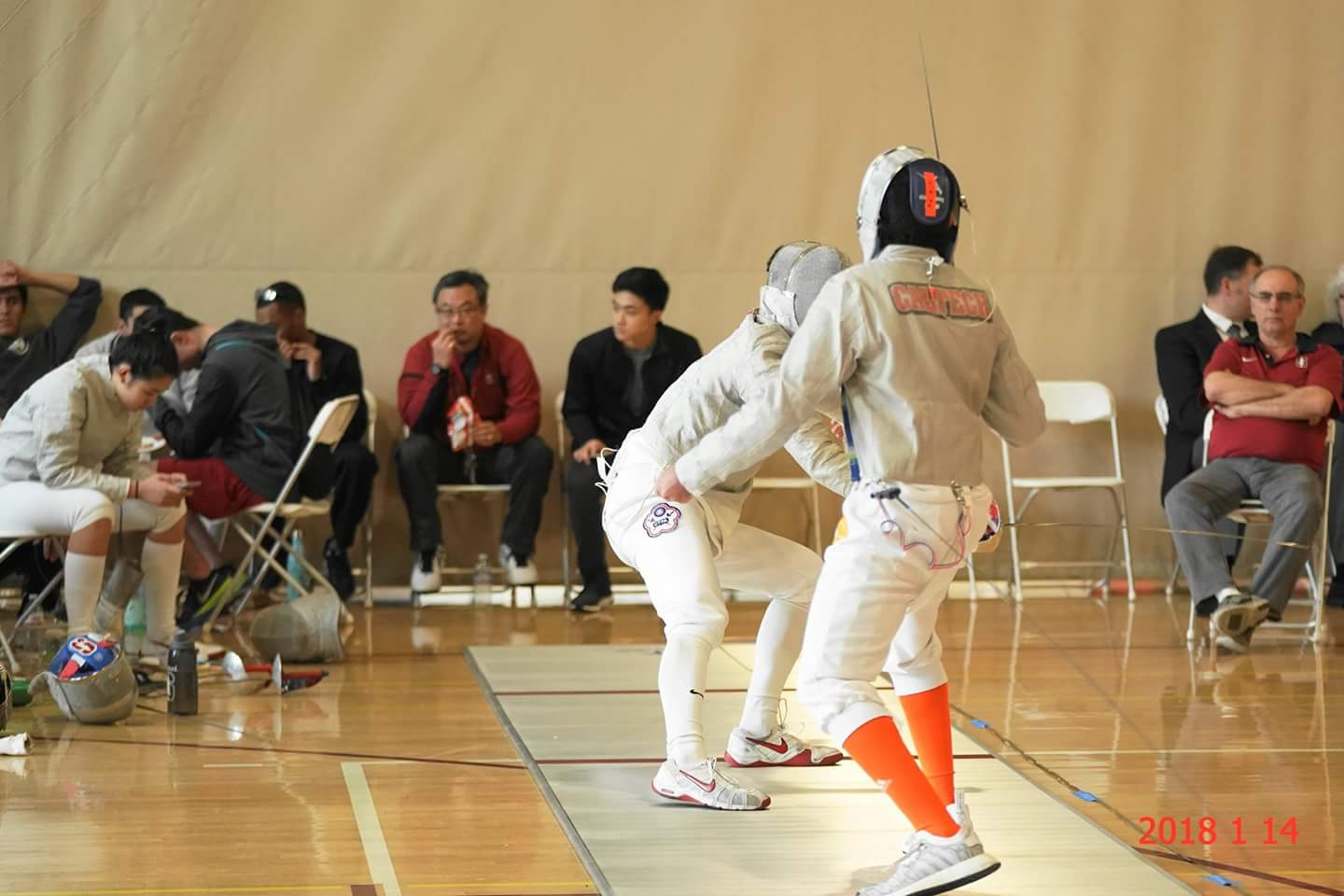 Caltech Fencers Compete at NCAA Regionals