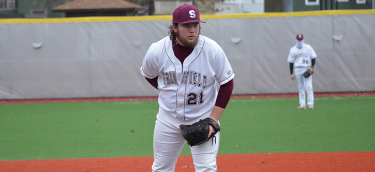 Baseball and UMass Dartmouth Split Doubleheader To Begin Florida Trip