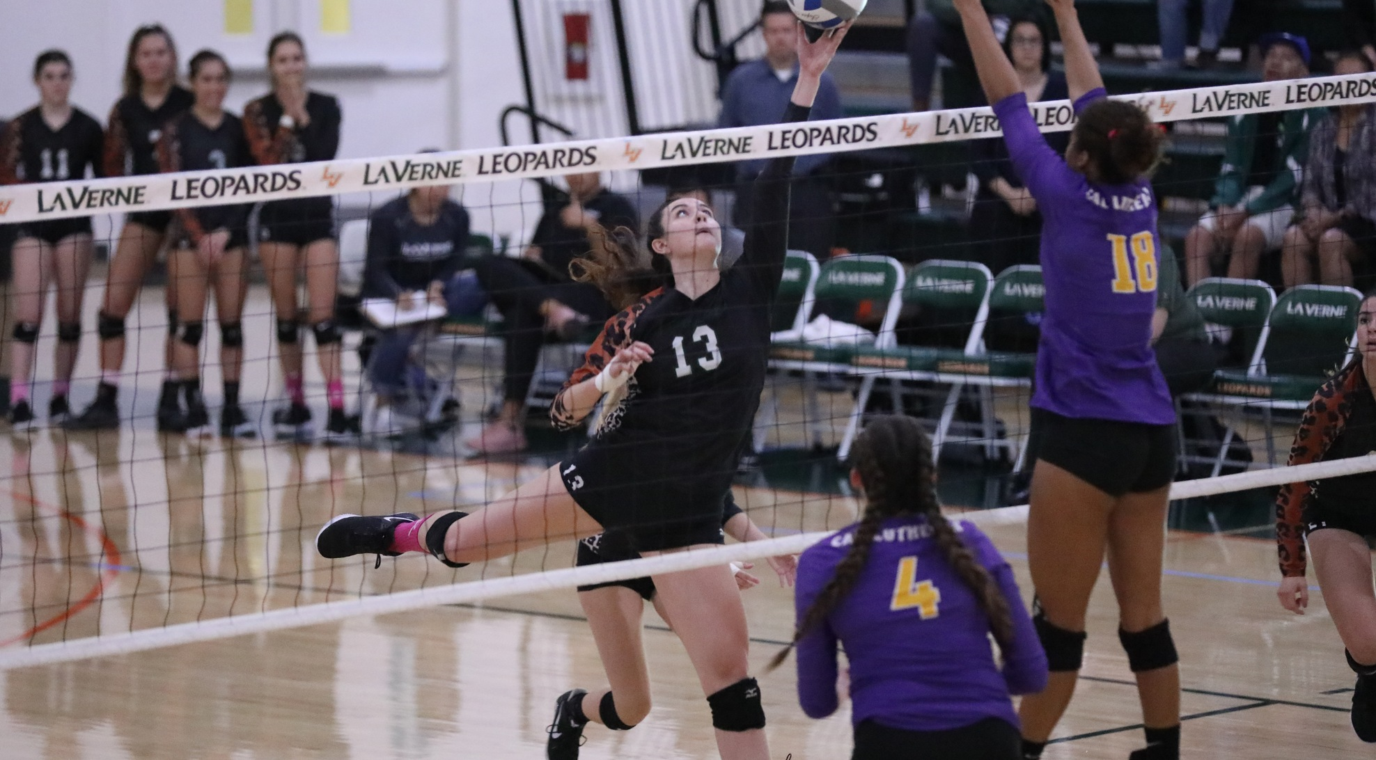 Leopards fall after wild third set
