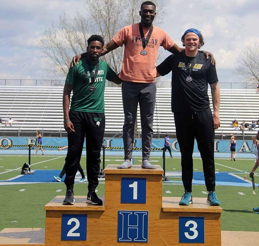 Devaughn Takes Silver and Bronze at GMAC Championships