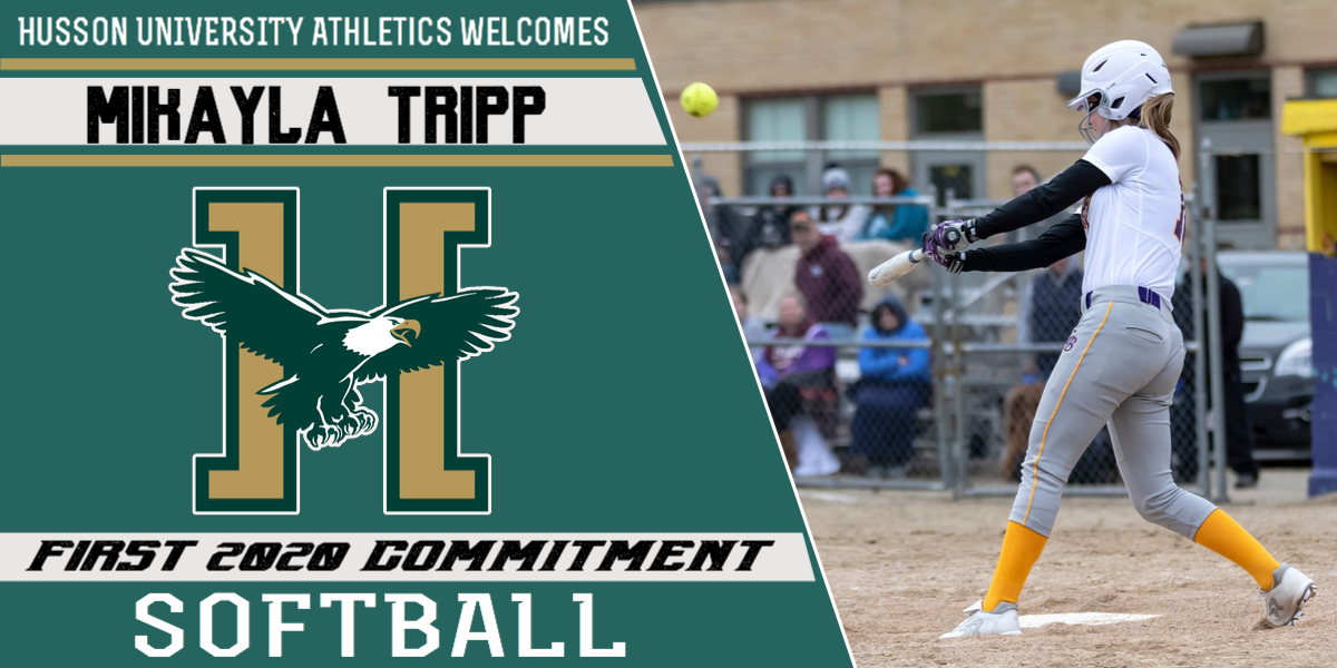 Husson Softball Welcomes Mikayla Tripp as the First Commitment to the 2020 Program