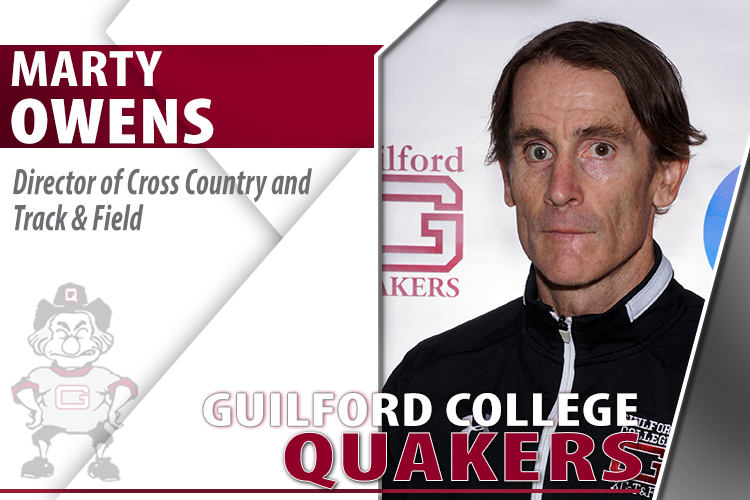 Marty Owens Named Director of Track & Field and Cross Country