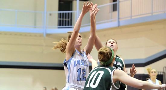 Women's Hoops Clinches GNAC Playoff Berth with 69-61 Win Versus Norwich