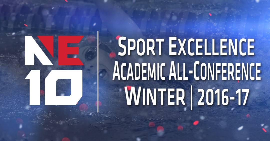 NE10 Announces Prestigious Academic Honors for Winter Season