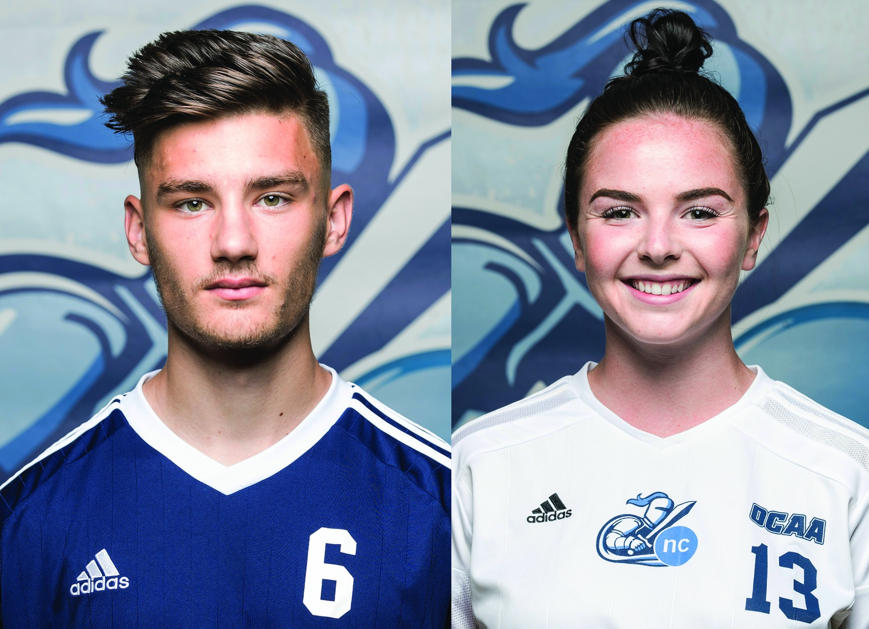 NEWS: Diacur and Halliday named Athletes of the Week