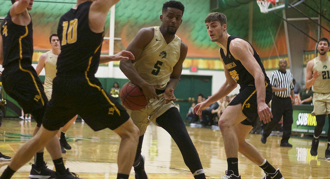 Alex Brown logged a double-double with 19 points and 11 rebounds in Tiffin's 80-67 loss to Lake Superior State University.