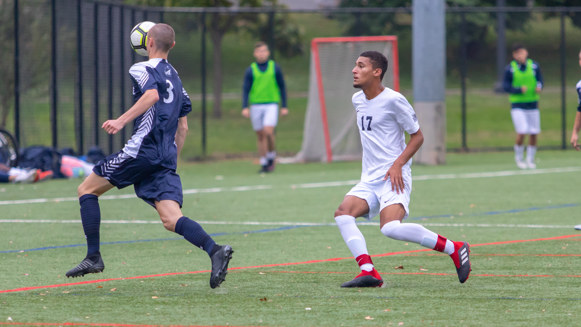 Men's Soccer Grounded by SJC Long Island