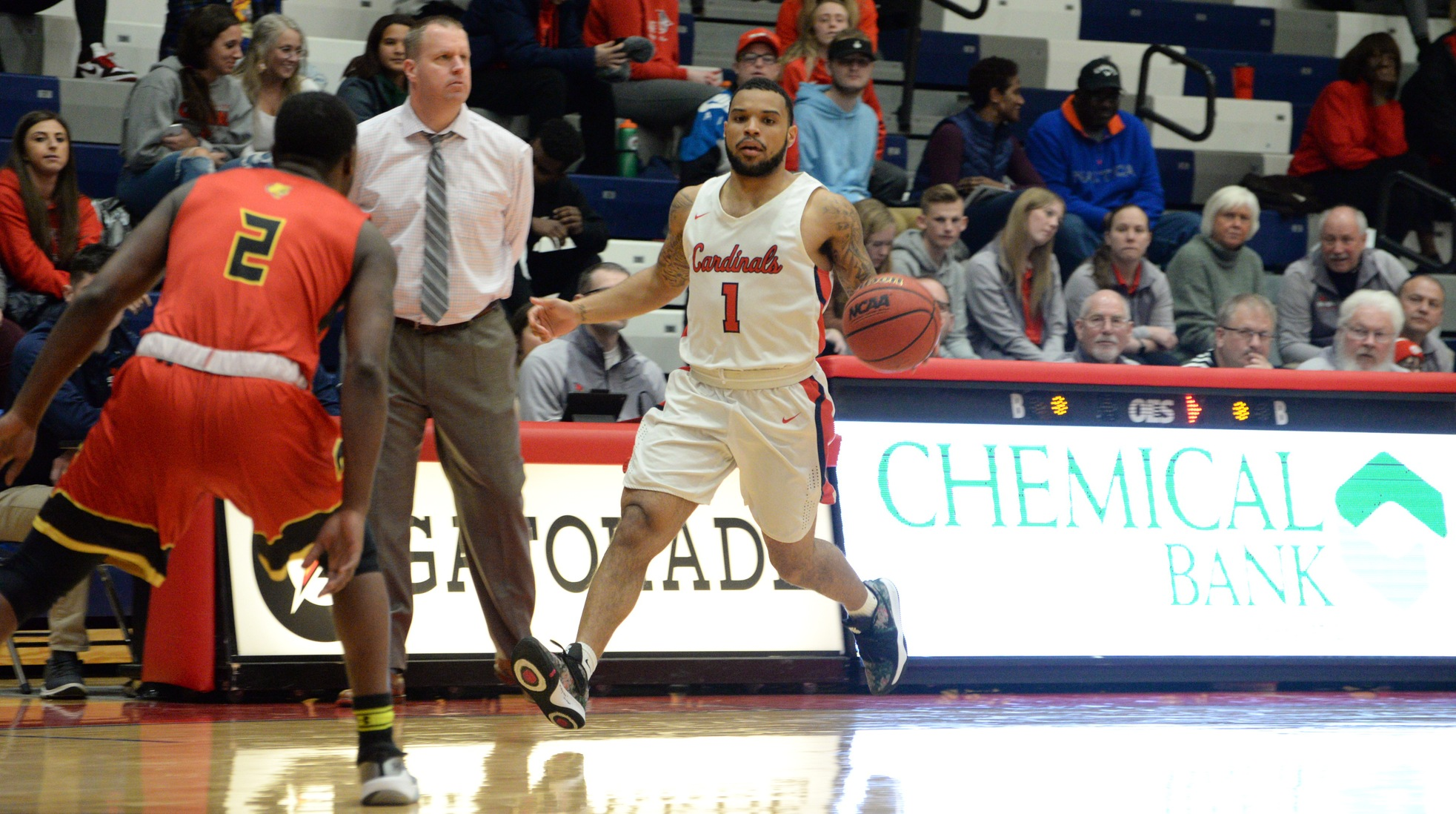 Malik Ellison named GLIAC Men's Basketball South Division Player of the Week
