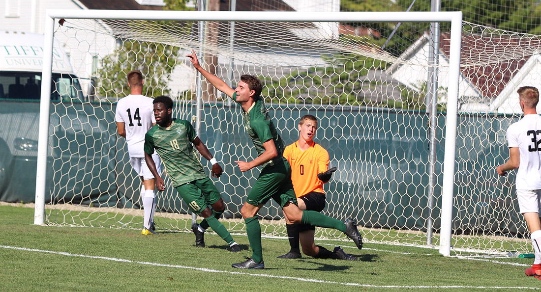 Martijn Kuijs opened scoring in Tiffin's 2-0 win at Findlay.