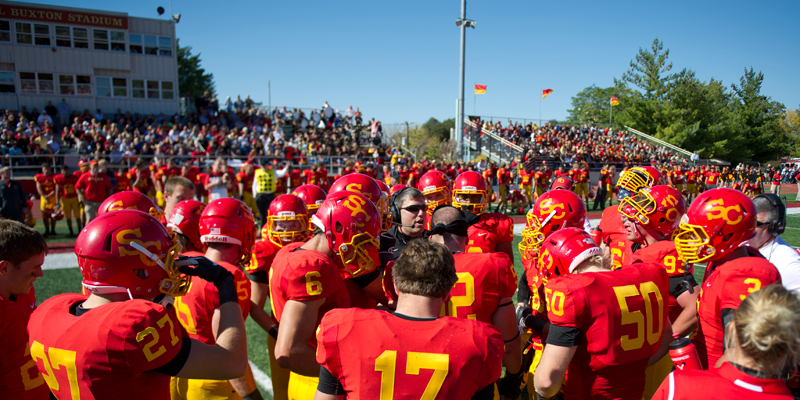 Football team announces 2014 schedule