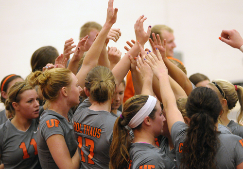 Oilers Slay Lady Knights, 3-2
