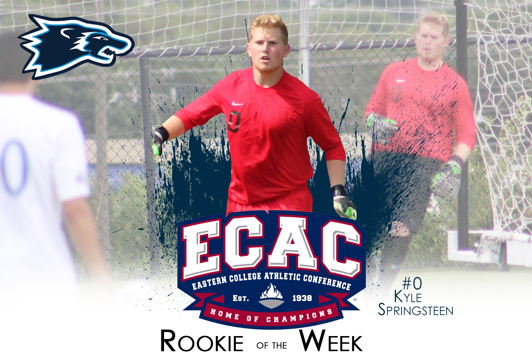 Springsteen Named ECAC Rookie of the Week