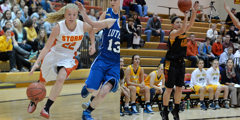 Hedrick, Haupt named to All-IIAC Women's Basketball Team