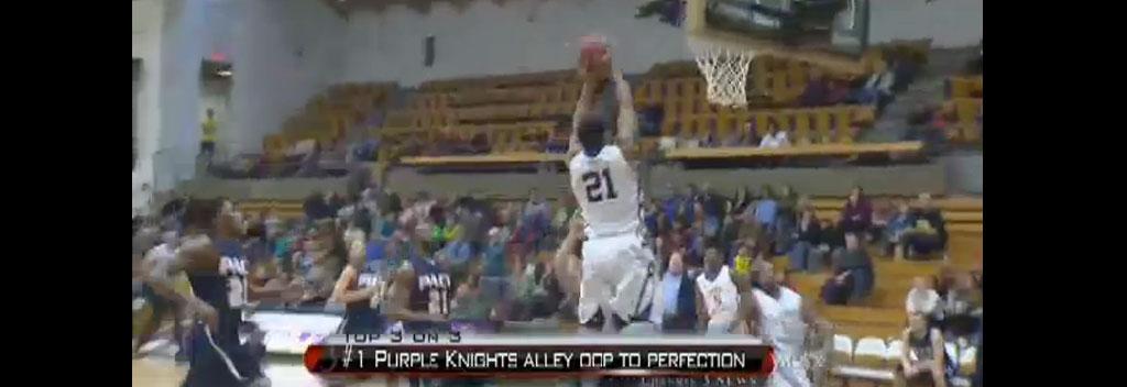 Alley Oop Basketball Men's Basketball Alley-oop