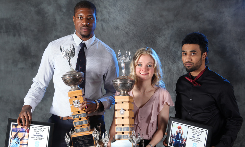 Williams, Challis and Periana named Athletes of the Year
