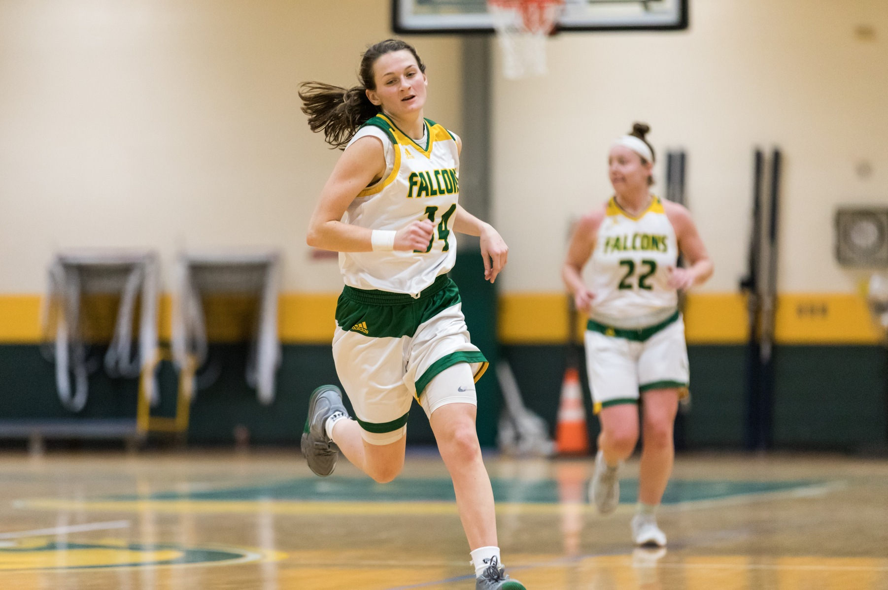Falcons Fall to Trailblazers in MASCAC action, 74-56