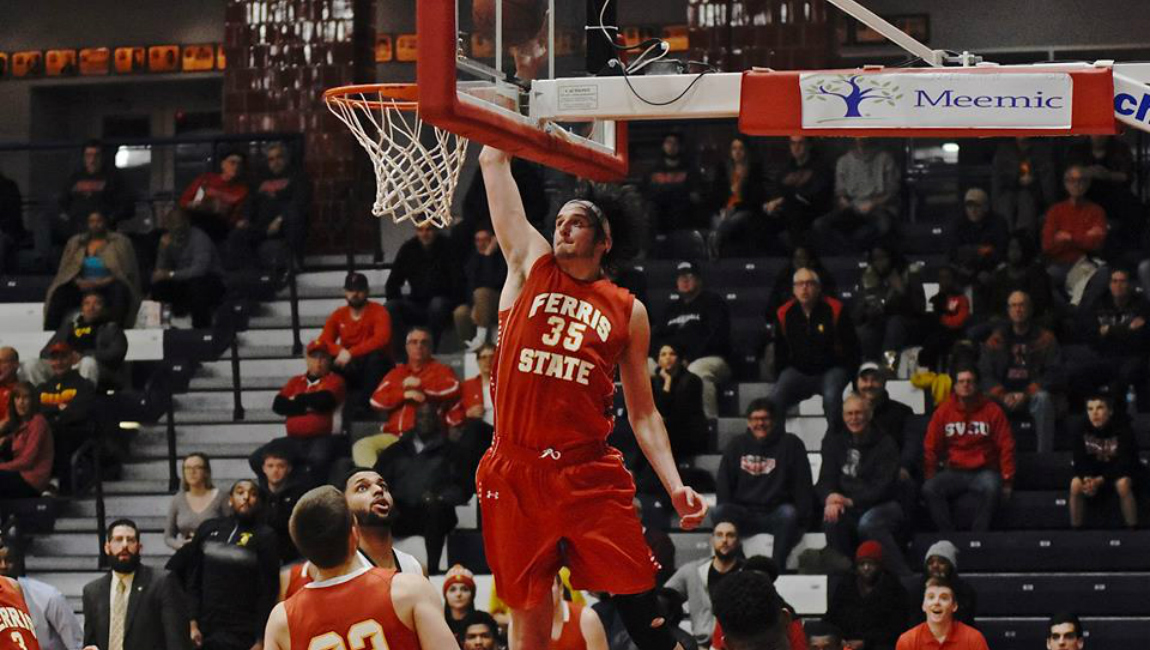 Ferris State Stays Atop GLIAC By Pulling Away For Road Win Over Defending League Champs