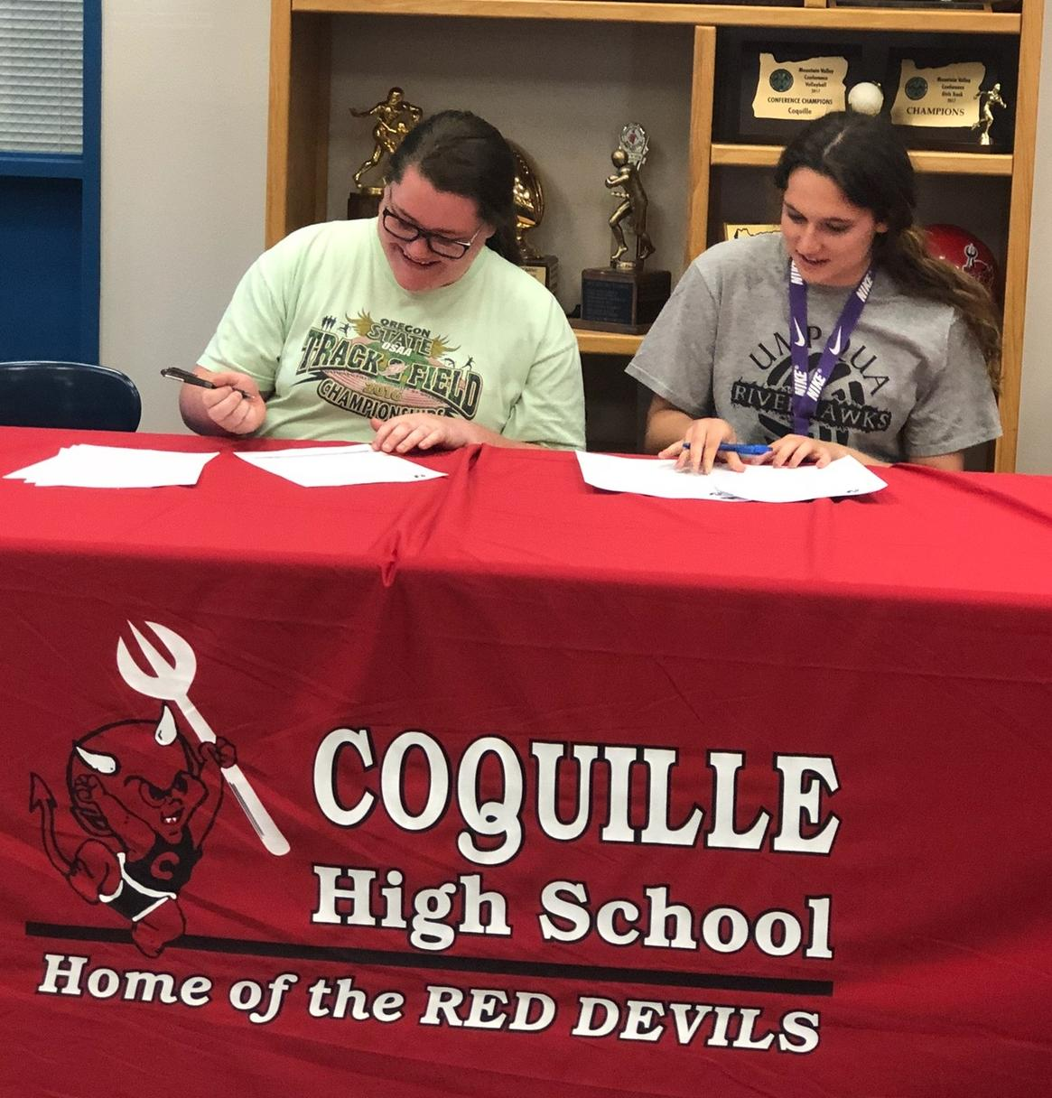 RiverHawk Track Adds Coquille Duo