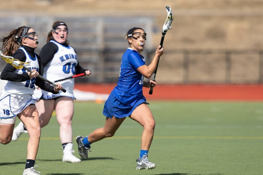 Maya Sullivan had three ground balls in the setback (Frank Poulin).
