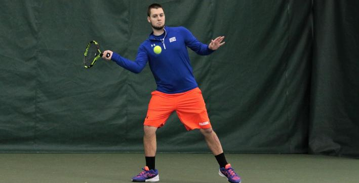 Men's Tennis splits a pair of matches on second day of spring trip