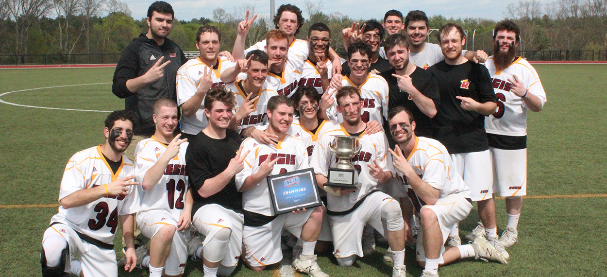 Men's Lacrosse Pulls Away In Second Half, Tops Daniel Webster For NECC Title