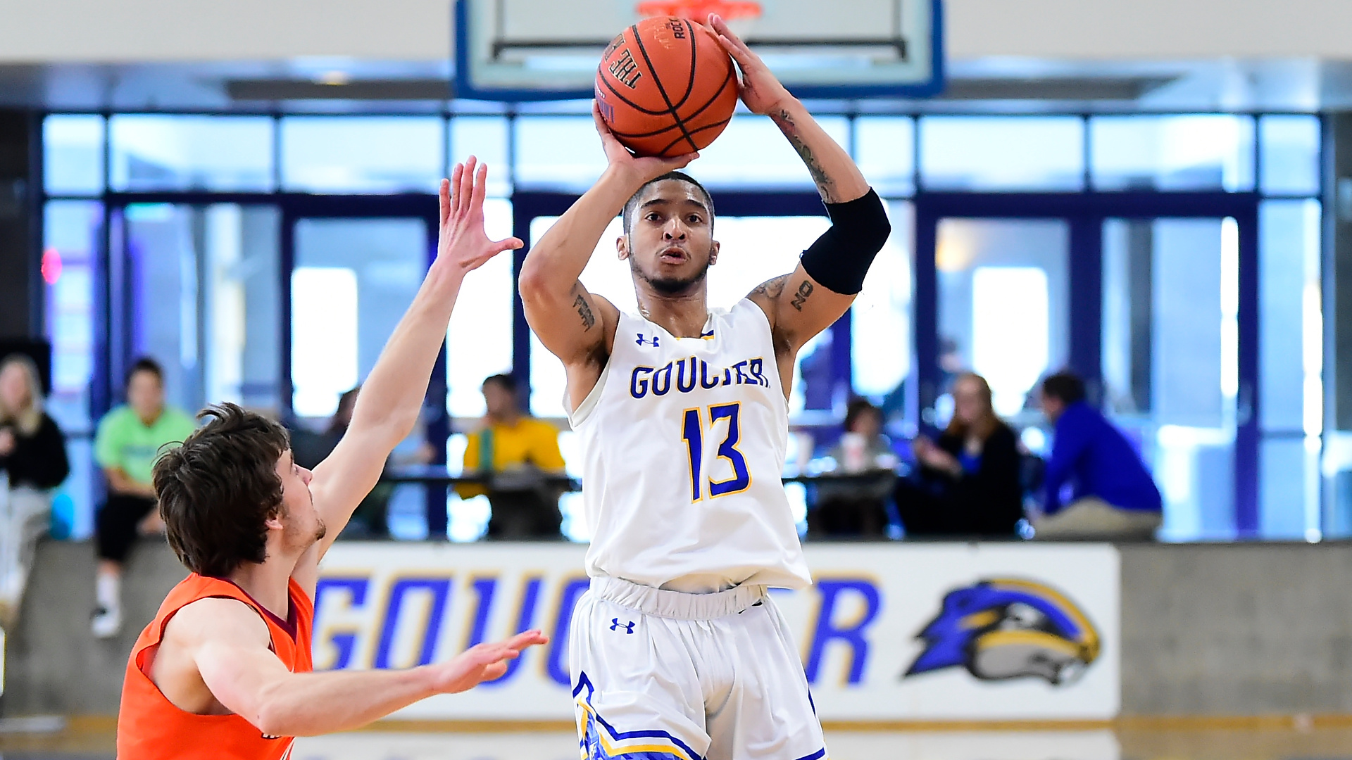 Well-Traveled Dwayne Morton Found A Home With Goucher Men's Basketball