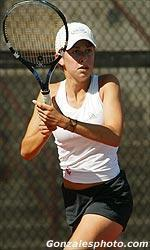 Women's Tennis Sweeps Idaho State 7-0