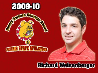 Richard Weisenberger Named Jimmy Swears Courage Award Recipient