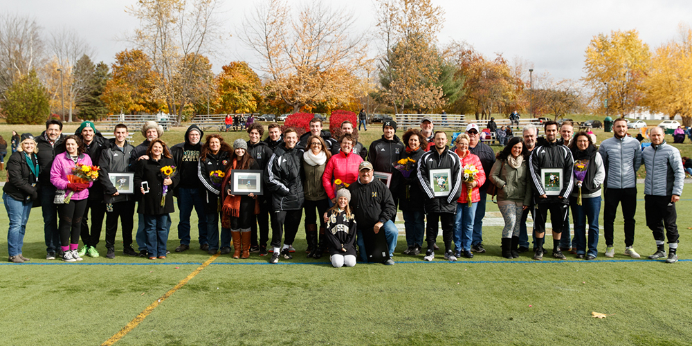 Men's Soccer Blank Green Mountain on Senior Day, 7-0