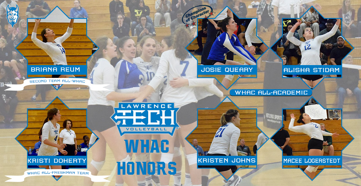 Photo for Reum and Doherty receive All-WHAC honors, Four receive All-Academic honors