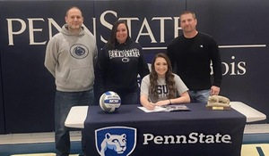 Skylar Ceprish of West Branch will attend PSD and continue her volleyball career